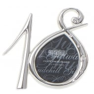 Silver Plated Diamante Number 18th Birthday 2 x 5 Photo Frame