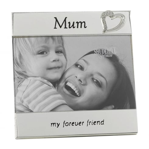 Shudehill Giftware Silver Plated Mum 6 x 4 Photo Frame