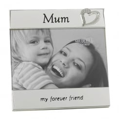 Silver Plated Mum 6 x 4 Photo Frame