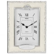 Silver Wedding 25th Anniversary Celebration Quartz Clock