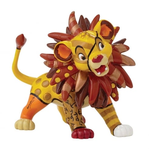 Disney By Britto Simba Mini Figurine