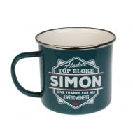 Simon Tin Mug 81