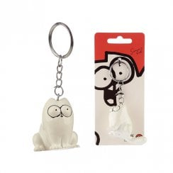 Simons Cat Keyring - Sitting