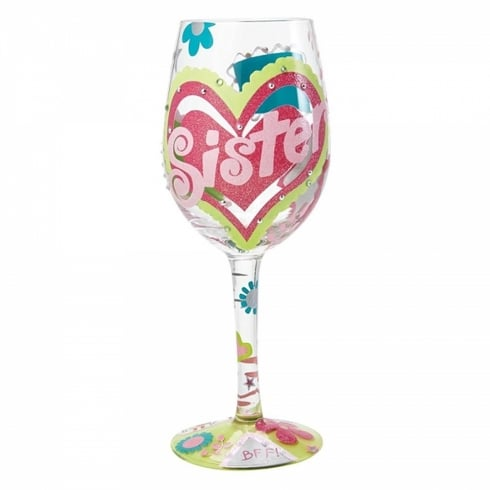 Lolita Sister MY BFF Wine Glass