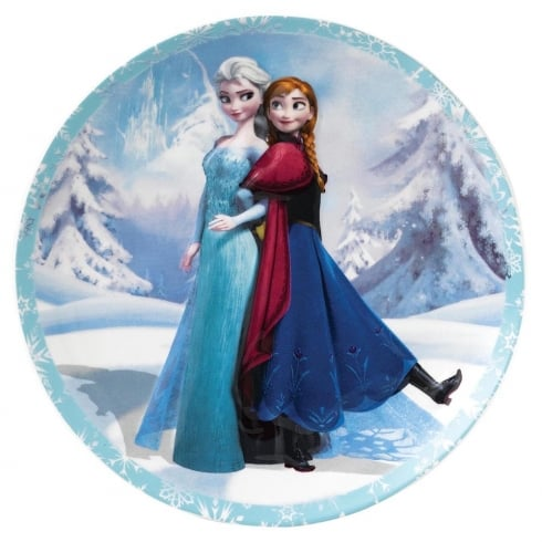 Disney Enchanting Collection Sisterly Bond Anna & Elsa Wall Plate