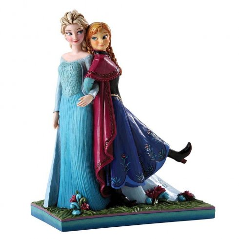 Disney Traditions Sisters Forever (Elsa & Anna) Frozen Figurine