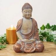 Sitting Thai Buddha Figurine 25cm