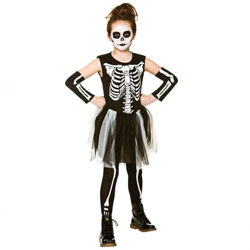 Wicked Costumes Skelebones (5-7) Medium