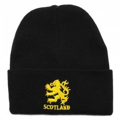 Ski Hat Lion Rampant Black