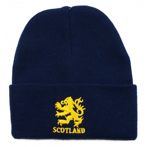 International Insignia Limited Ski Hat Lion Rampant Navy