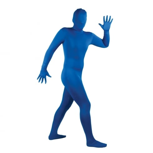 Wicked Costumes Skinz - Blue (S)