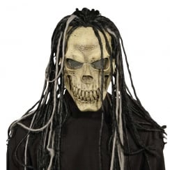 Skull Mask with Dreads