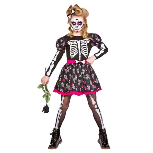 Wicked Costumes Skull of the Dead (5-7) Medium