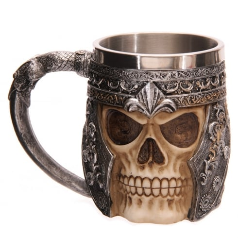 Puckator Skull Warrior Decorative Tankard