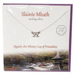 Slainte Mhath Good Health Pendant