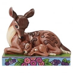 Sleep Tight Young Prince Bambi with Mother Figurine