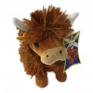 Small Highland Cow Soft Toy