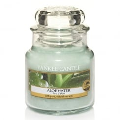 Small Jar Candle Aloe Water