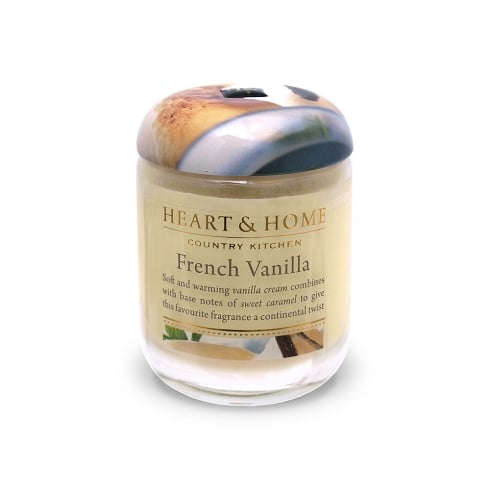 Heart & Home Small Jar Candle French Vanilla