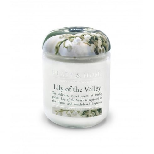 Heart & Home Small Jar Candle Lily Of The Valley