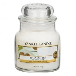 Small Jar Candle Shea Butter