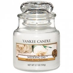 Small Jar Candle Wedding Day