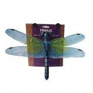 Small Metal Dragonfly Home Garden Wall Art Ornament - Blue