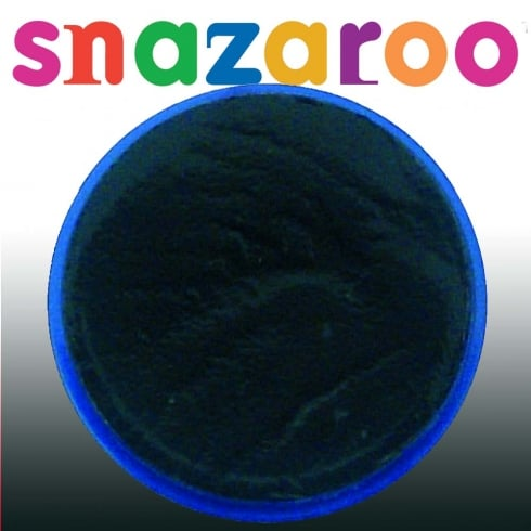 Wicked Costumes Snazaroo Classic Black Face Paint 18ml
