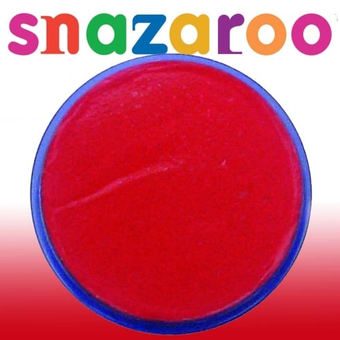Wicked Costumes Snazaroo Classic Bright Red Face Paint 18ml