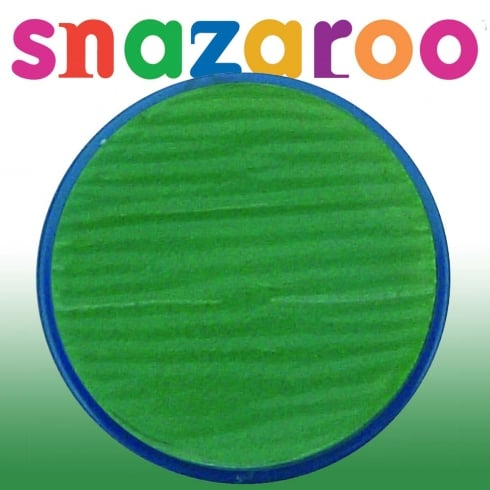 Snazaroo Classic Grass Green Face Paint 18ml