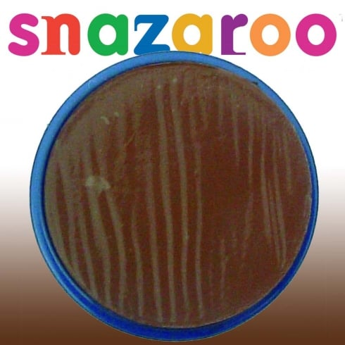 Wicked Costumes Snazaroo Classic Light Brown Face Paint 18ml