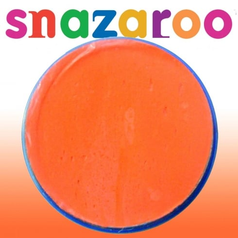 Wicked Costumes Snazaroo Classic Orange Face Paint 18ml