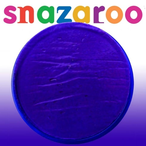 Snazaroo Classic Purple Face Paint 18ml
