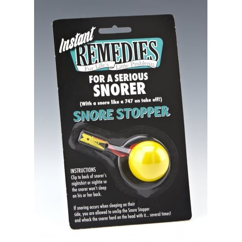 Boxer Snore Stopper