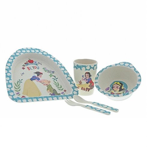 Disney Enchanting Collection Snow White - Organic Bamboo Dinner Set