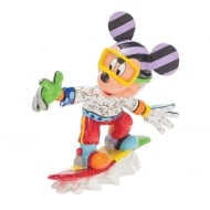 Snowboarding Mickey Mouse