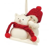 Snowcat Hanging Ornament