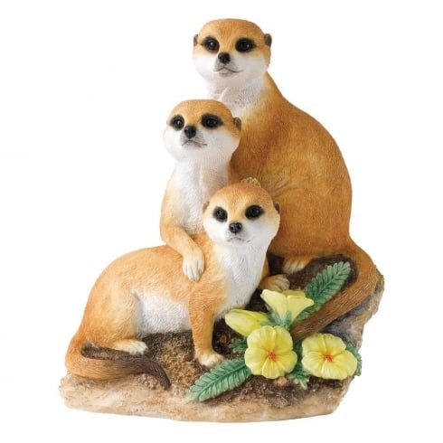 Country Artists Snuggled Up Meerkat Figurine