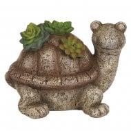 Solar Garden Tortoise 15cm