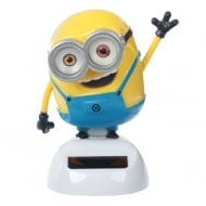 Solar Powered Bob Minions Desk Toy