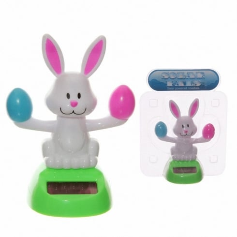 Solar Pals Solar Powered Easter Rabbit Desk Toy