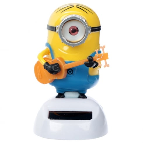 Solar Pals Solar Powered Stuart Minions Desk Toy
