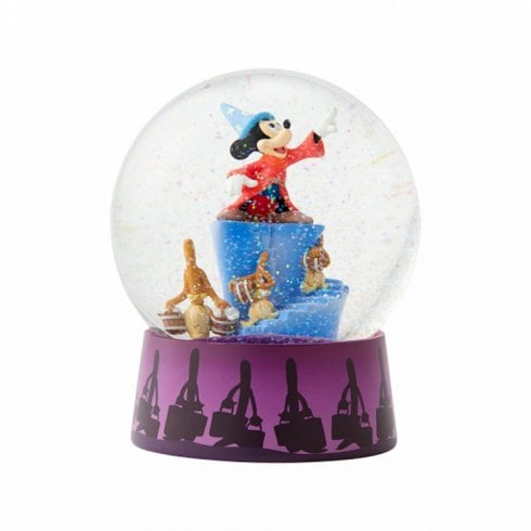 Disney Traditions Sorcerer Mickey & Brooms Waterball