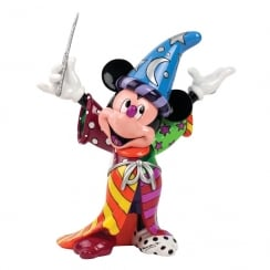 Disney By Britto 4033887 Figurine Buste Mickey R/ésine 16 cm