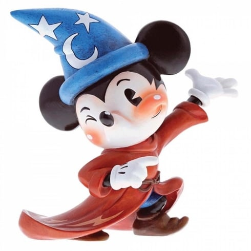 The World of Miss Mindy Presents Disney Sorcerer Mickey Figurine