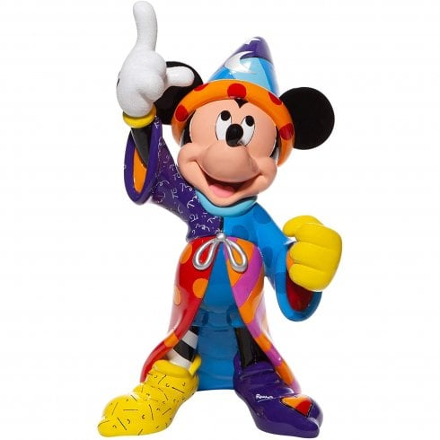 Disney By Britto Sorcerer Mickey Mouse 80th Anniversary Fantasia Resin Figurine
