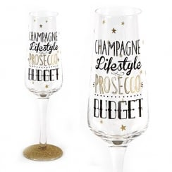 Sparkling Flute Glass Champagne Lifestyle