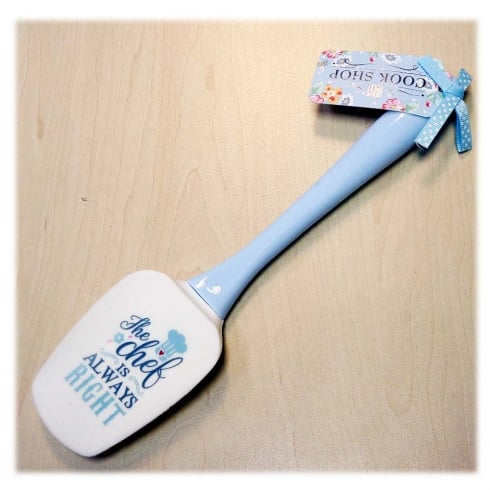 History & Heraldry Spatula The Chef Is Always Right