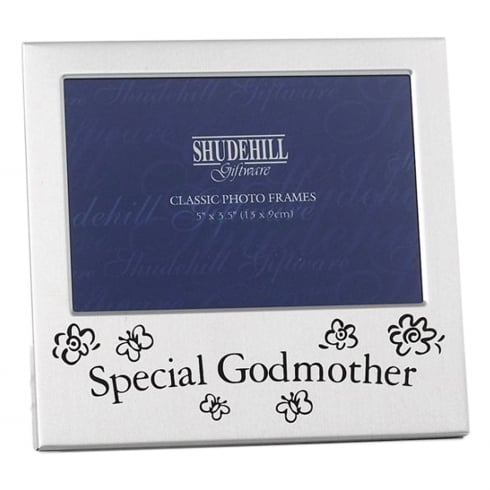 Shudehill Giftware Special Godmother 5 x 3.5 Photo Frame