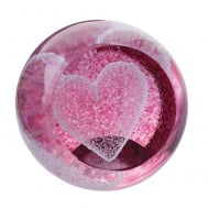 Special Moments Ruby Heart Paperweight